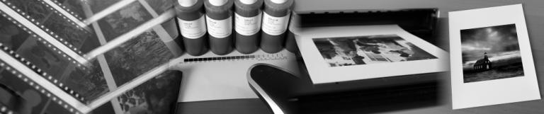 laboratoire numérique noir et banc