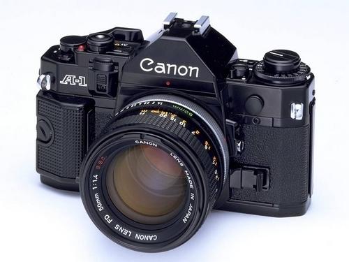 Canon A1 appareil photo argentique