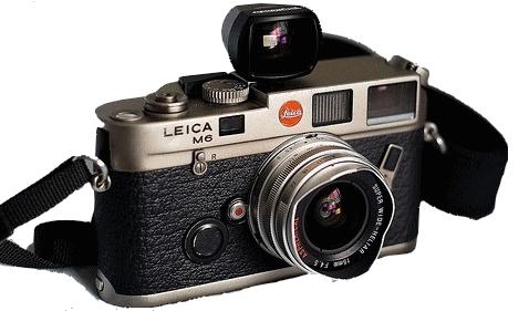 Leica m6 appareil photo argentique