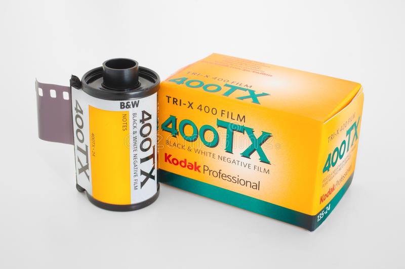 Information technique Film KODAK TRI-X 400 / 400TX  TRI-X 320 / 320TXP