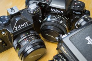 Choisir son appareil photo argentique