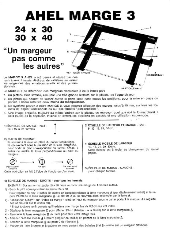 Margeur Ahel Marge 3