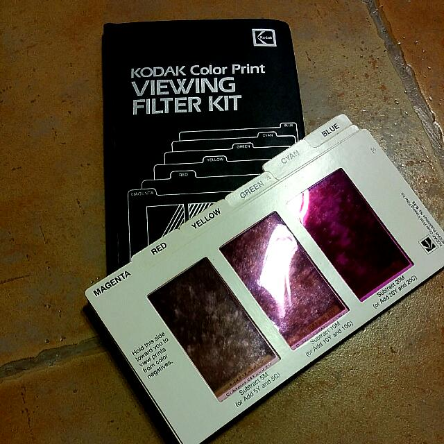 KODAK Colour Print Viewing Filter Kit